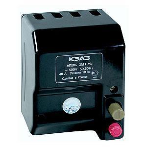Автоматический выключатель АП 50Б-3МТ 50А