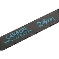 Полотна для ножовки по металлу, 300 мм, 24TPI, Carbon, 2 шт., GROSS