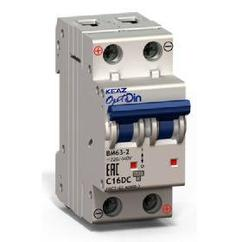 Автоматический выключатель BM63-2XС 40А
