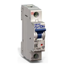 Автоматический выключатель BM63-1XС 16А