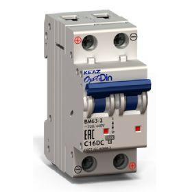 Автоматический выключатель BM63-2XС 32А