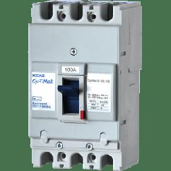 Автоматический выключатель OptiMat E100 63А (3Ф)