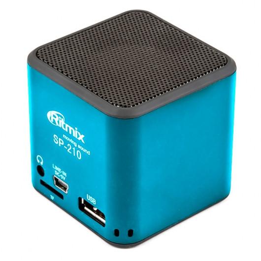 Портативная акустика Ritmix SP-210 black
