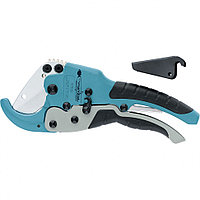 Ножницы для резки изделий из ПВХ, D - до 45 мм, 2-х комп. рукоятки, рабочий стол для плоских изделий, GROSS