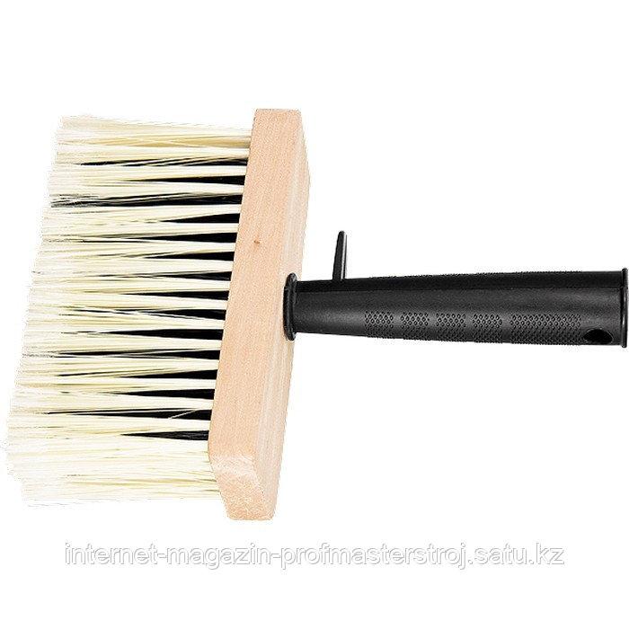 Кисть-макловица, 150x70 мм искусственная щетина, деревянный корпус, пластмассовая ручка, MATRIX