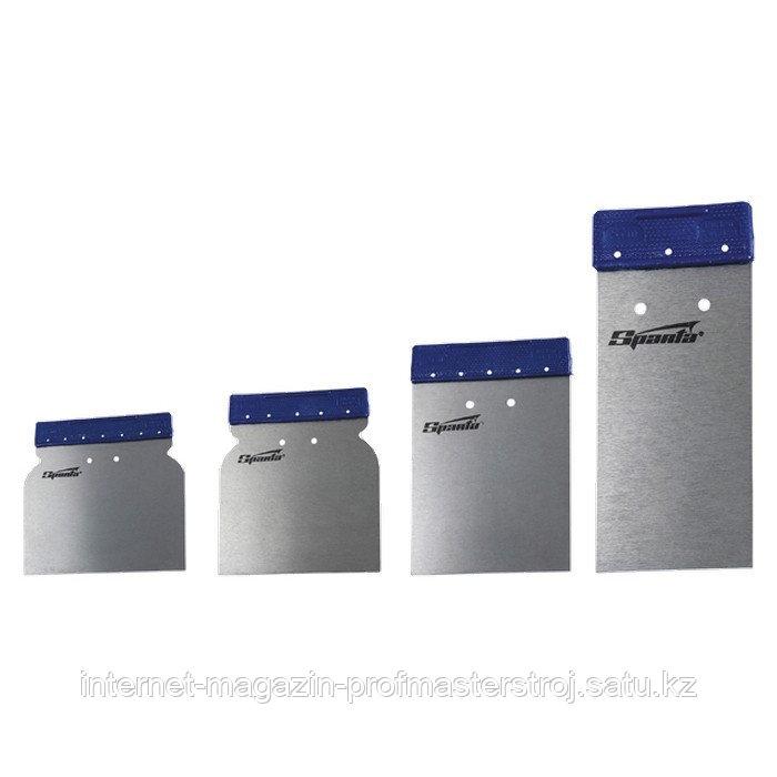 Набор шпателей японских стальных, 50-80-100-120 мм, 4 шт., SPARTA