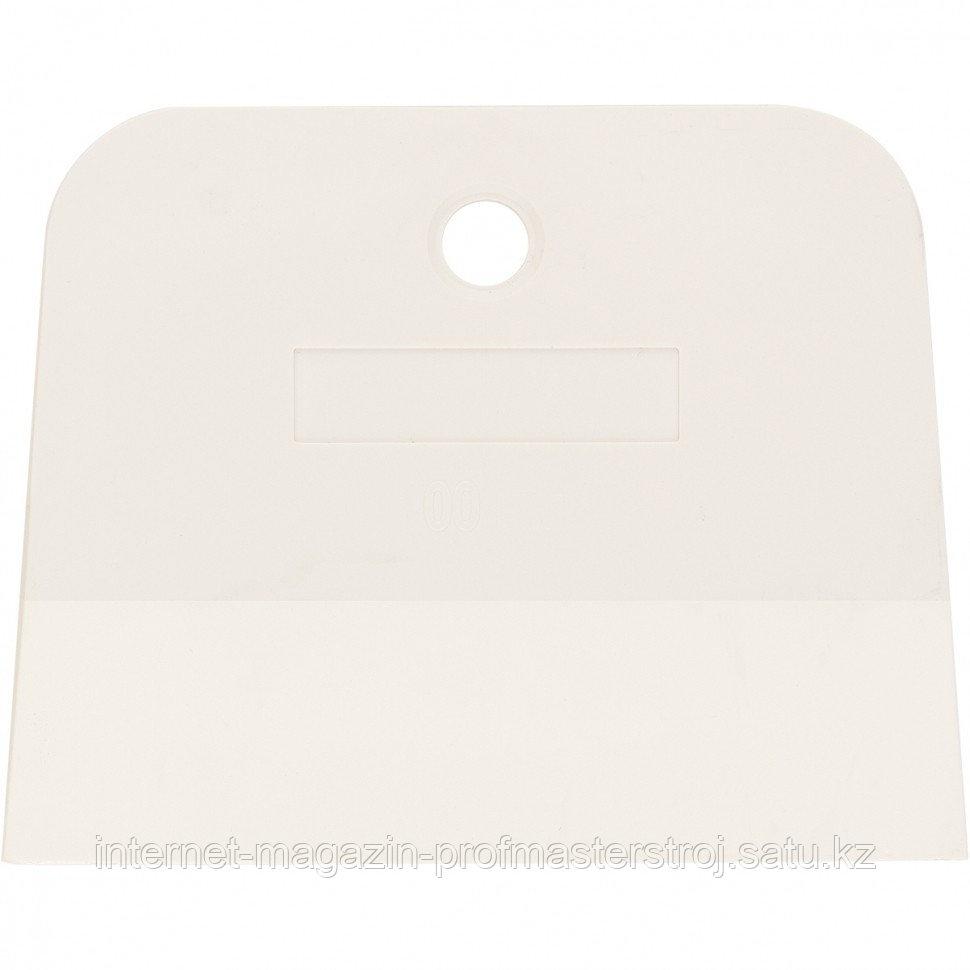 Шпатель, белая резина, 100 мм, СИБРТЕХ Россия