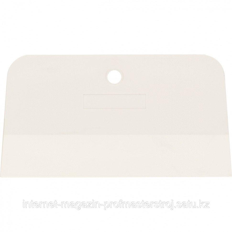 Шпатель, белая резина, 150 мм, СИБРТЕХ Россия