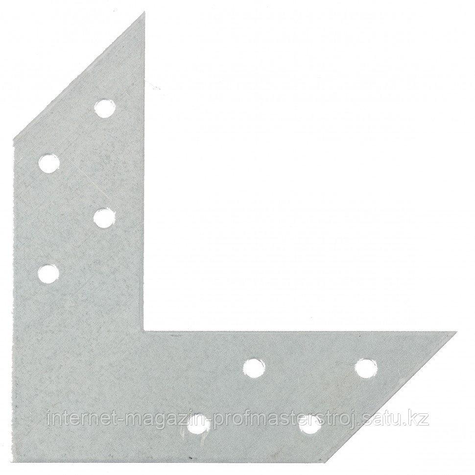 Угловой соединитель 2 мм, US 120 x 120 x 35 мм, Россия. СИБРТЕХ