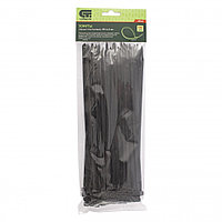 Хомуты, 250 x 4,8 мм, пластиковые, черные, 100 шт. Сибртех