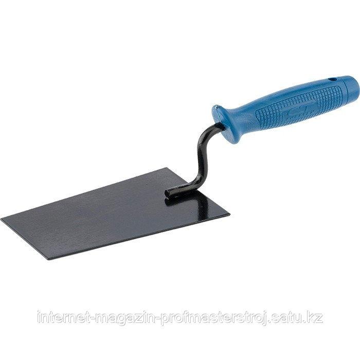 Кельма отделочная, стальная, пластиковая ручка, СИБРТЕХ Россия