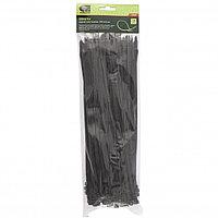 Хомуты, 300 x 4,8 мм, пластиковые, черные, 100 шт. Сибртех