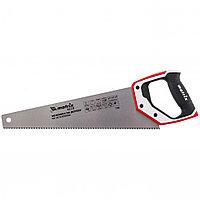 Ножовка по дереву, 400 мм, каленый зуб 3D, 7-8 TPI, трехкомпонентная рукоятка, PRO. MATRIX