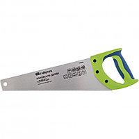 """Ножовка по дереву""""Зубец"""" для точных пильных работ, 350 мм, каленый зуб 2D, 14 TPI, двухкомпонентная рукоятка."""