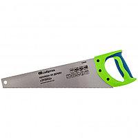 """Ножовка по дереву""""Зубец"""" для точных пильных работ, 400 мм, каленый зуб 2D, 14 TPI, двухкомпонентная рукоятка."""