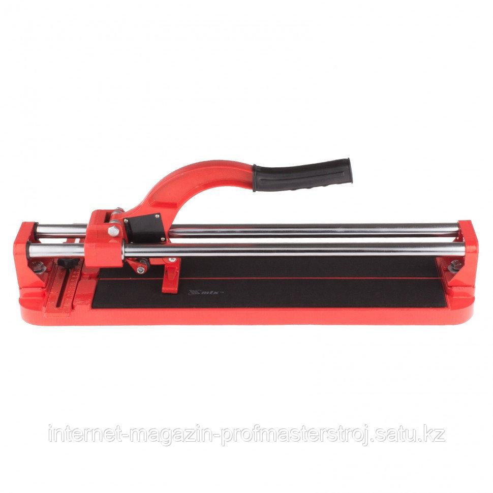 Плиткорез 400x16 мм, литая станина, направляющая с подшибником, усиленная ручка, MATRIX