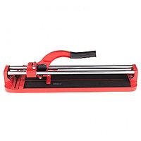 Плиткорез 500x16 мм, литая станина, направляющая с подшибником, усиленная ручка, MATRIX