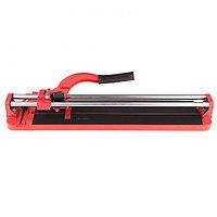 Плиткорез 600x16 мм, литая станина, направляющая с подшибником, усиленная ручка, MATRIX