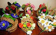 Плетеные корзиночки , фото 1
