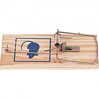 Крысоловка деревянная, 175 х 83 х 10 мм, усиленная. СИБРТЕХ