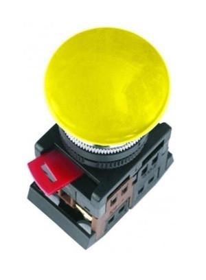 Кнопка AELA-22 (грибок желтый неон)