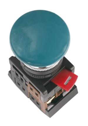 Кнопка AEA-22 (грибок, синий)