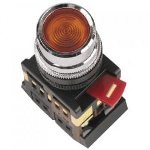 Кнопка АBLFS-22( красный неон)