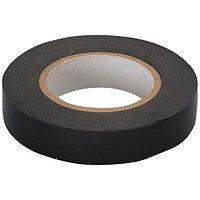 Изолента ПВХ, 15 мм x 10 м, 130 мкм, черная, СИБРТЕХ