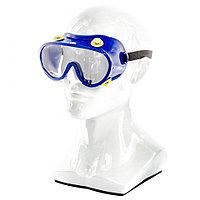 Очки защитные закрытого типа с непрямой вентиляцией, поликарбонат, СИБРТЕХ Россия