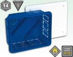 Распределительная коробка для подштукатурного монтажа KSC 11-503 125*155*65
