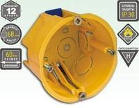 Установочная коробка KSC 11-103 под г/к 68*45 с пласт. лапками