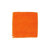 Салфетка универсальная из микрофибры оранжевая, 300x300 мм, ELFE