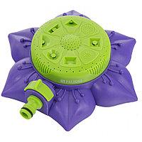 Распылитель-дождеватель, 8 режимов полива, на подставке, с регулировкой. PALISAD