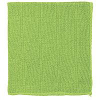 Салфетка из микрофибры для кухни зеленая, 350x400 мм, ELFE
