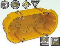 Коробка установочная под г/к 65*135*50 с мет. лапками KSC 11-108