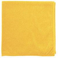 Салфетка из микрофибры жемчужная для бытовой техники и мебели желтая, 400x400 мм, ELFE