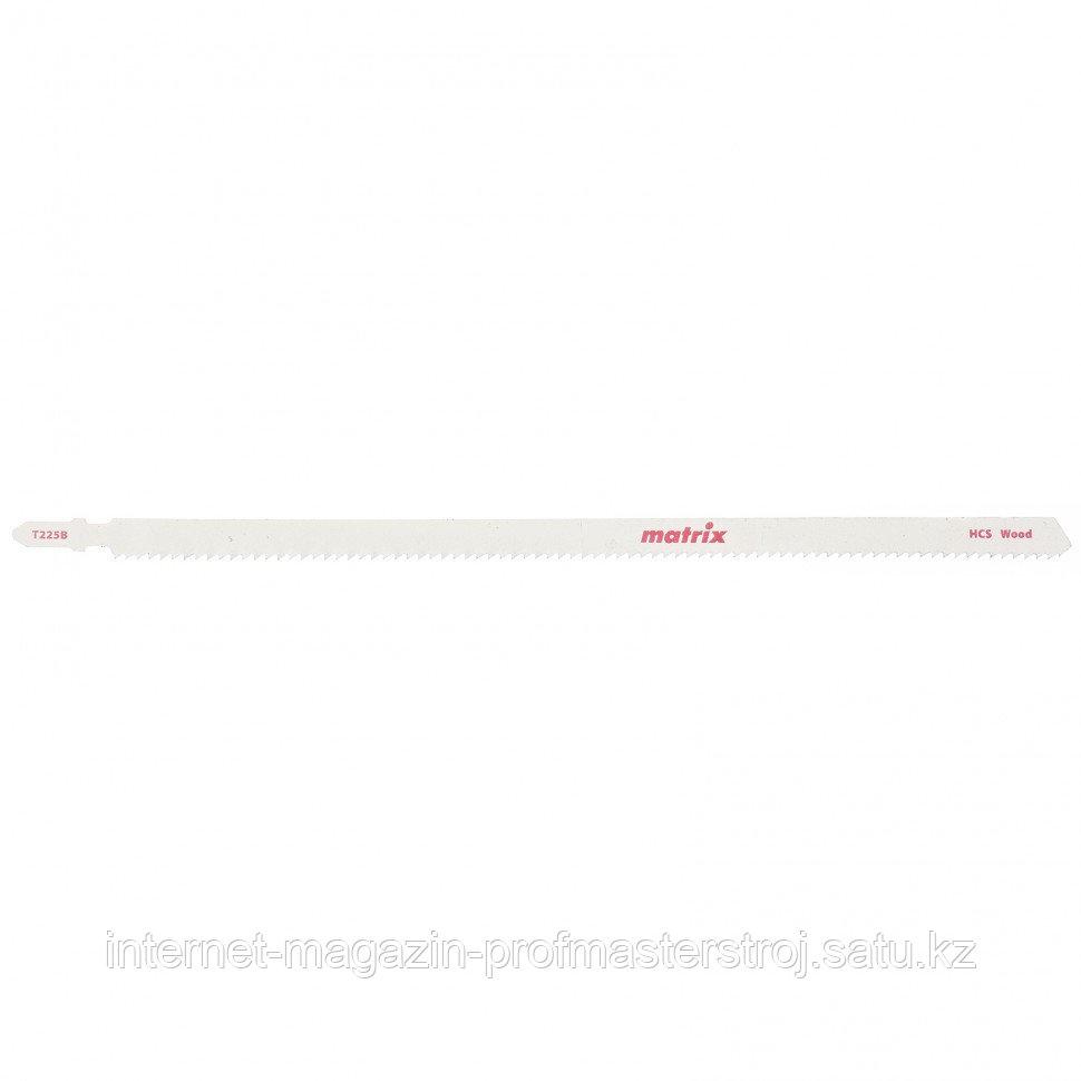 Полотна для электролобзика  по дереву, 3 шт,T544D, 125 x 4 мм, HCS. MATRIX