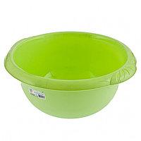 Таз пластмассовый круглый 9 л, зеленый, TM ELFE Россия