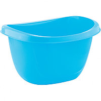 Таз пластмассовый овальный 16 л, голубой, TM ELFE Россия