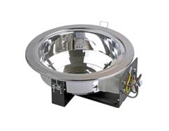 Светильник люминесцентный ЛВО 1501 белый б/с Е27 2х26 (Downlight)