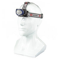 Фонарь наголовный, светодиодный, 3 режима, 10 LED, 3xAAA, STERN