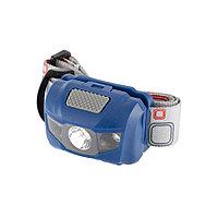 Фонарь наголовный SPACE, ABS пластикБ 4 режима, 1 Вт LED x 120 Лм, 2 RED LED, 8 часов, 3xAAA, STERN
