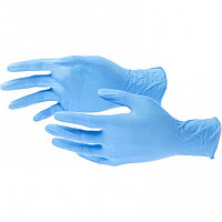 Перчатки хозяйственные, нитриловые 100 шт, XL. Elfe