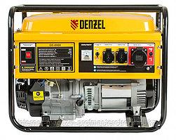 Генератор бензиновый GE 8900, 8.5 кВт, 220В/50Гц, 25 л, ручной старт, DENZEL
