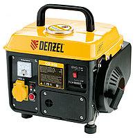 Генератор бензиновый DB950, 0.85 кВт, 220В/50Гц, 4 л, ручной старт, DENZEL