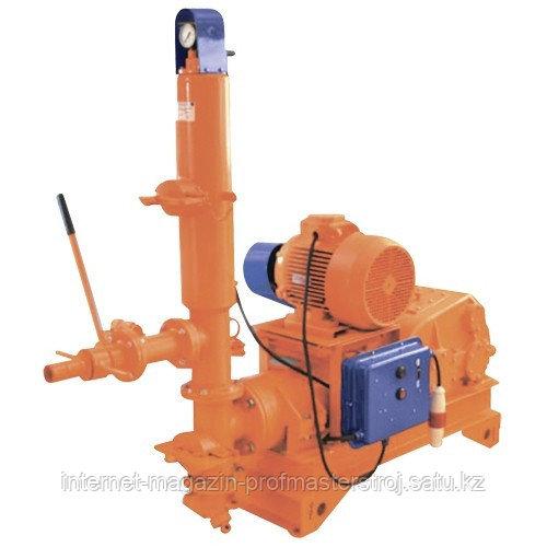 Растворонасос поршневой РНП-2500 2.5 м3/ч, 3 кВт, 380 В, 1.57 МПа, подача: гор/вер 100/30 м, СТРОЙМАШ