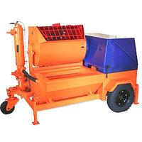 Агрегат штукатурно-смесительный АШС-2500 2.5 м3/ч, 6.25 кВт, 380В, 1.47 МПа, подача: гор/вер 100/30М, СТРОЙМАШ, фото 1