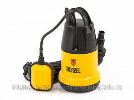 Дренажный насос DP250 250 Вт, подъем 6 м, 6000 л/ч, DENZEL