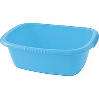 Таз пластмассовый прямоугольный 25 л, голубой, Россия. Elfe