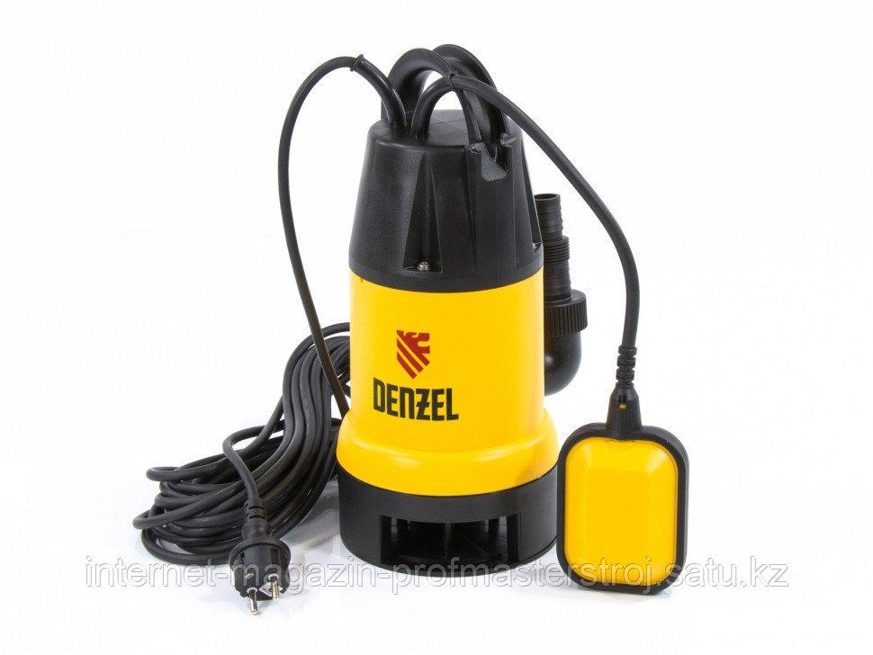 Дренажный насос DP600 600 Вт, подъем 7 м, 10000 л/ч, DENZEL